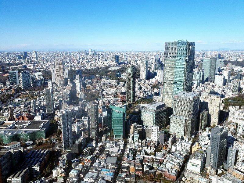 mori tower tokyo view