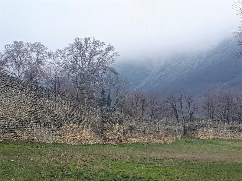 sheki wall fortifications palace trip report