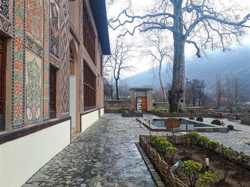 khan's palace garden sheki trip report