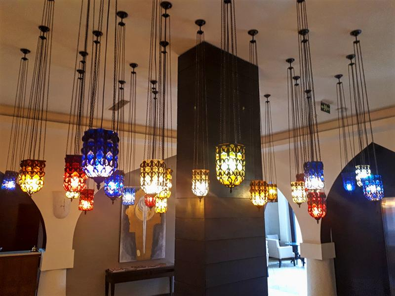 lamps hotel