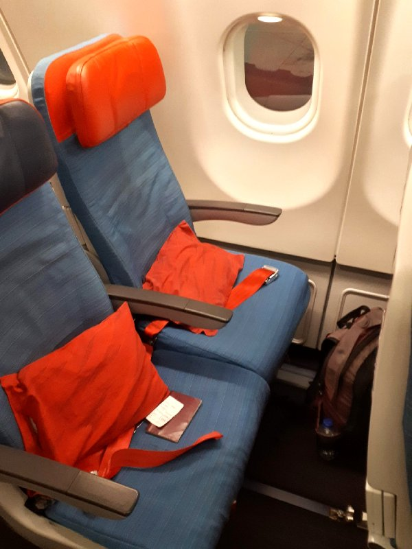 turkish airlines airbus a330-200 a332 review economy