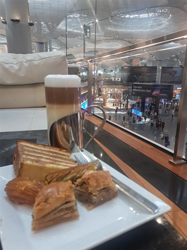 latte baklava turkish