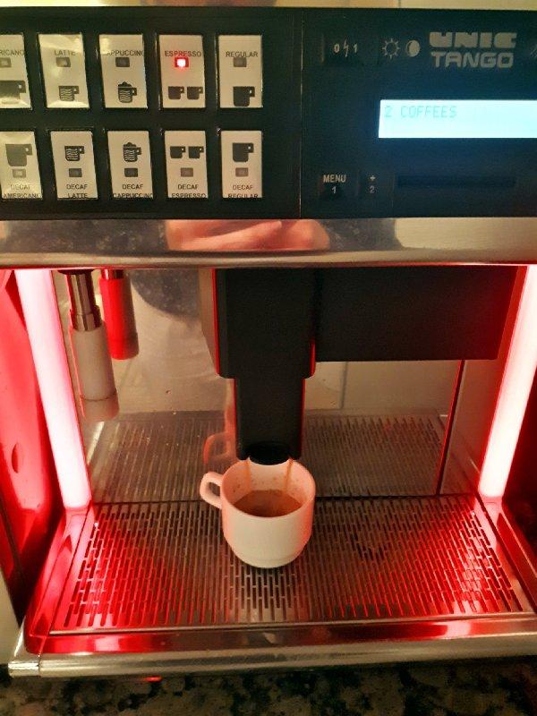 lounge coffee machine