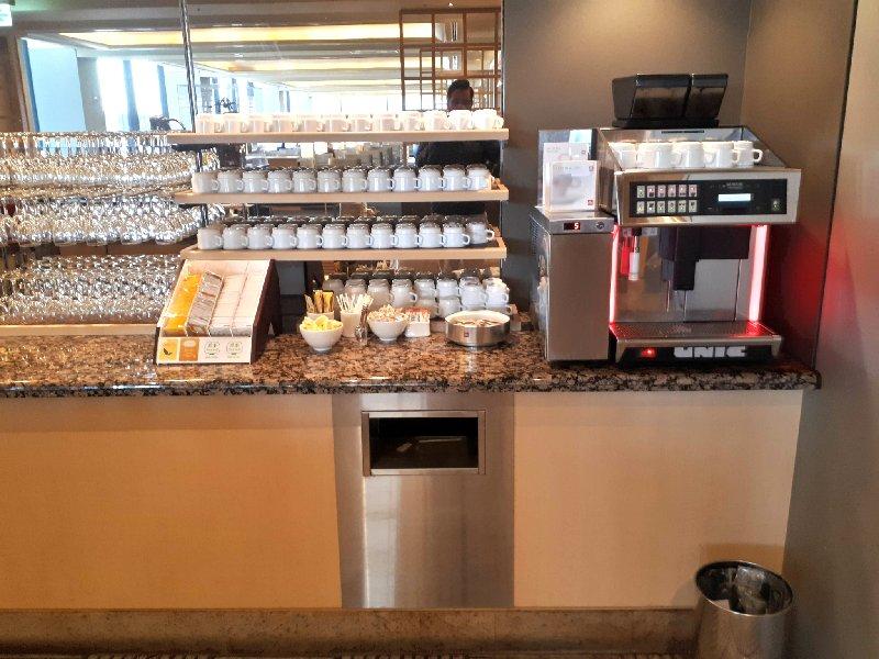 coffee machine lounge