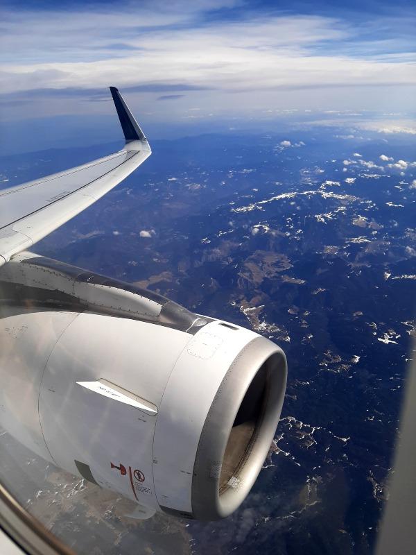 bulgaria view aegean plane