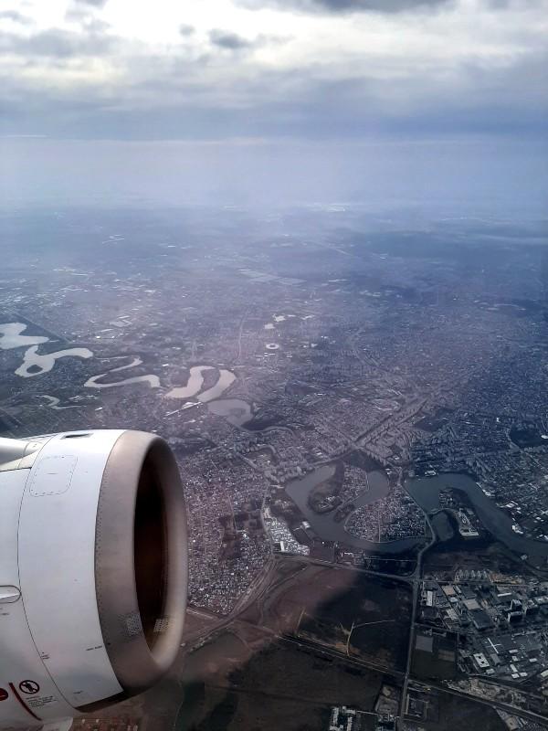 bucharest view air
