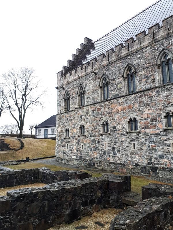 bergen fortress castle bergenhus trip report