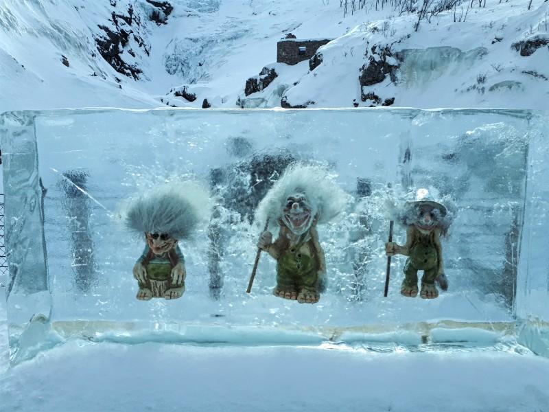 ice trolls kjosfossen