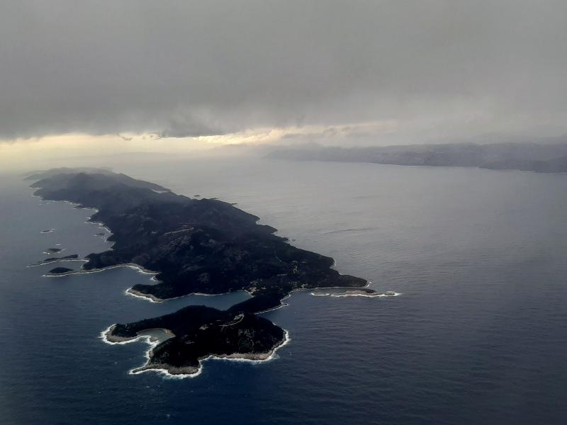 dubrovnik croatia arrival landing