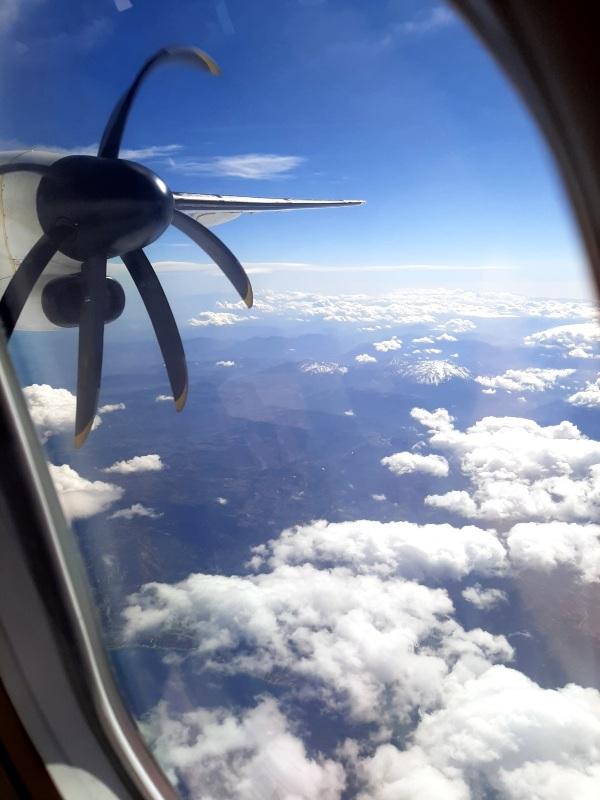 window view turboprop dash 8