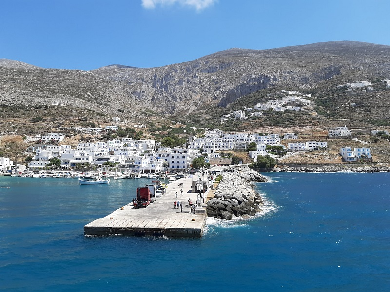 aegiali greece amorgos corona test