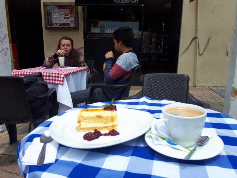 coffee cake chorro de quevedo