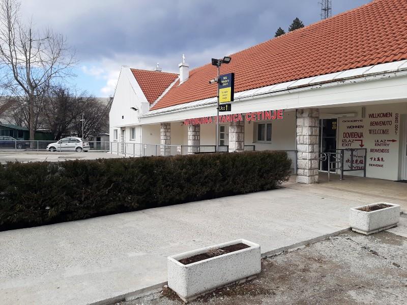 cetinje bus station