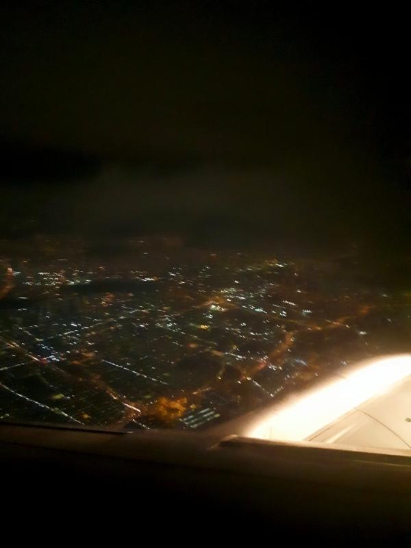 bogota take-off