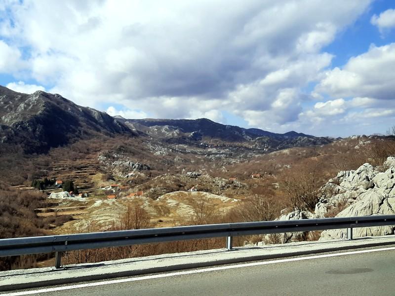 cetinje scenery