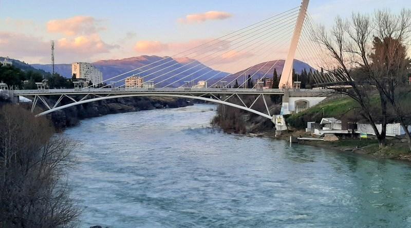 millennium bridge podgorica