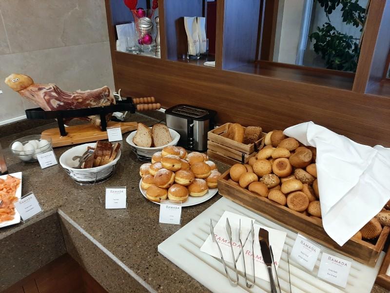 pastries bread
