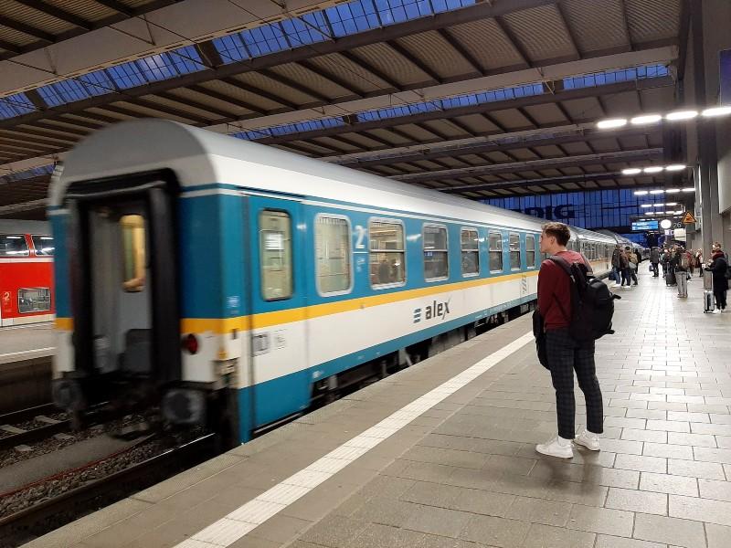 munchen hbf alx bavaria ticket