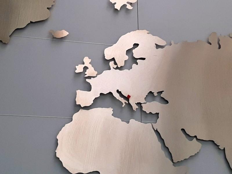 montenegro map
