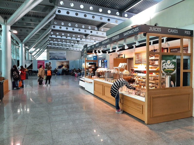 podgorica airport cafe