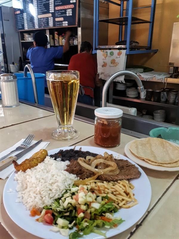 costa rican food mercado central san jose