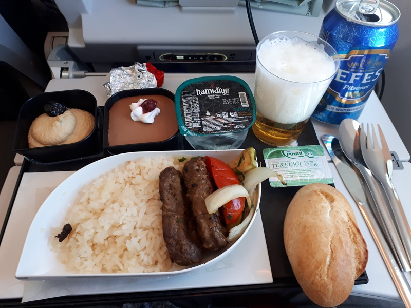 economy class meal turkish airlines