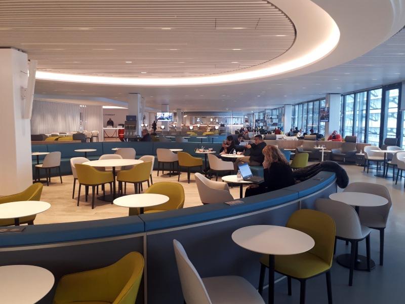 lounge air france terminal 2e hall l