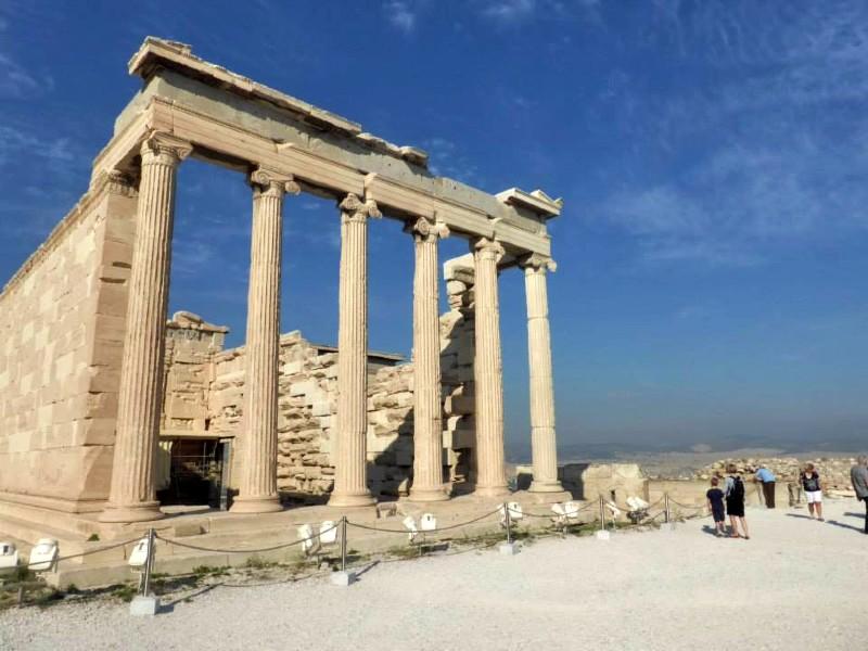 Erechtheion acropolis