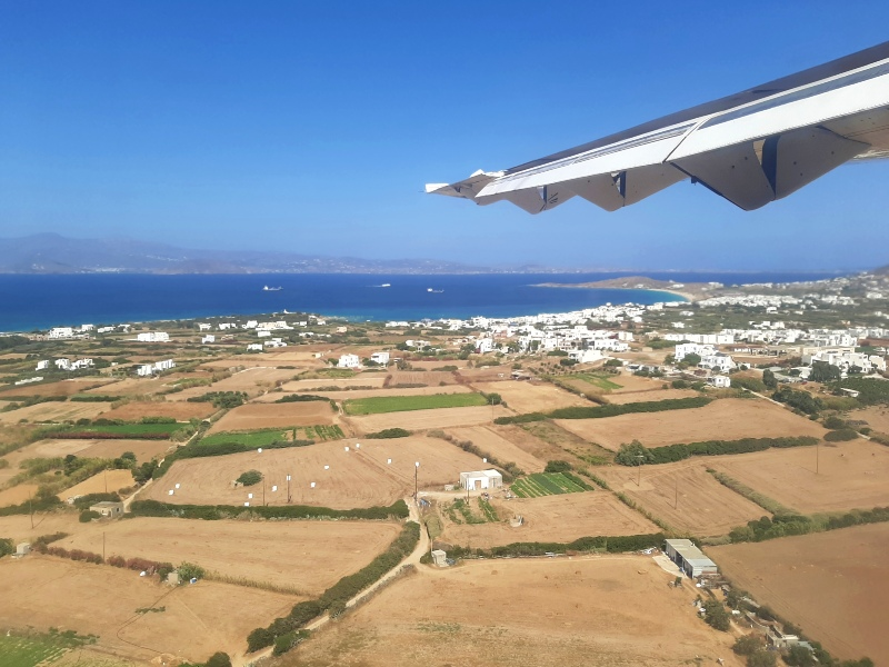naxos landing view