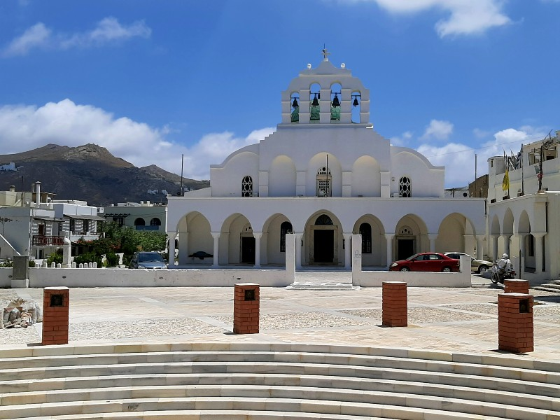 orthodox cathedral naxos