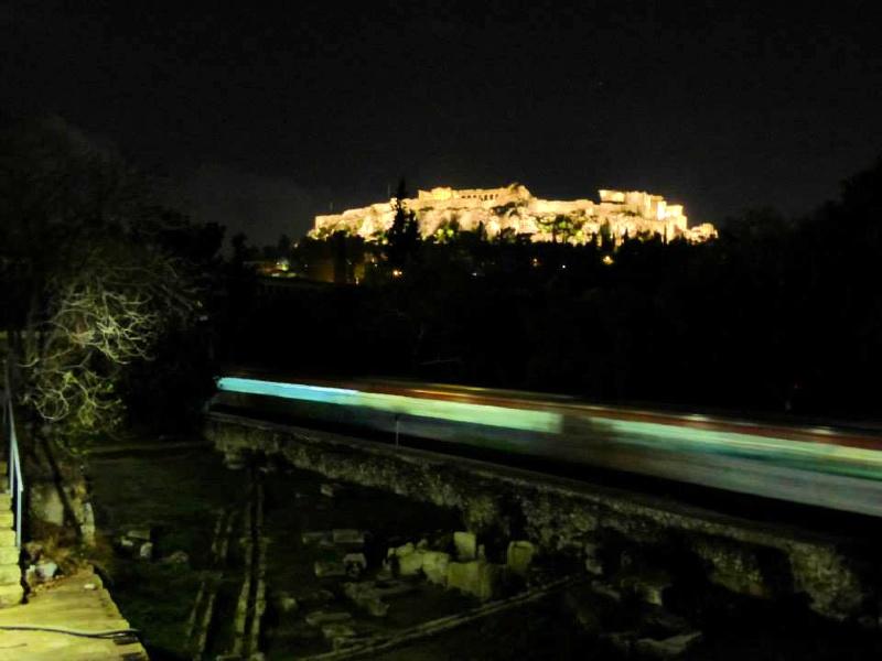 acropolis night