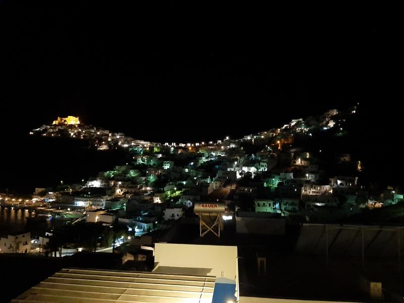 astypalaia town night