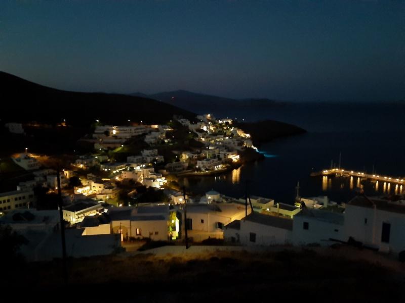 aegean sea astypalaia night