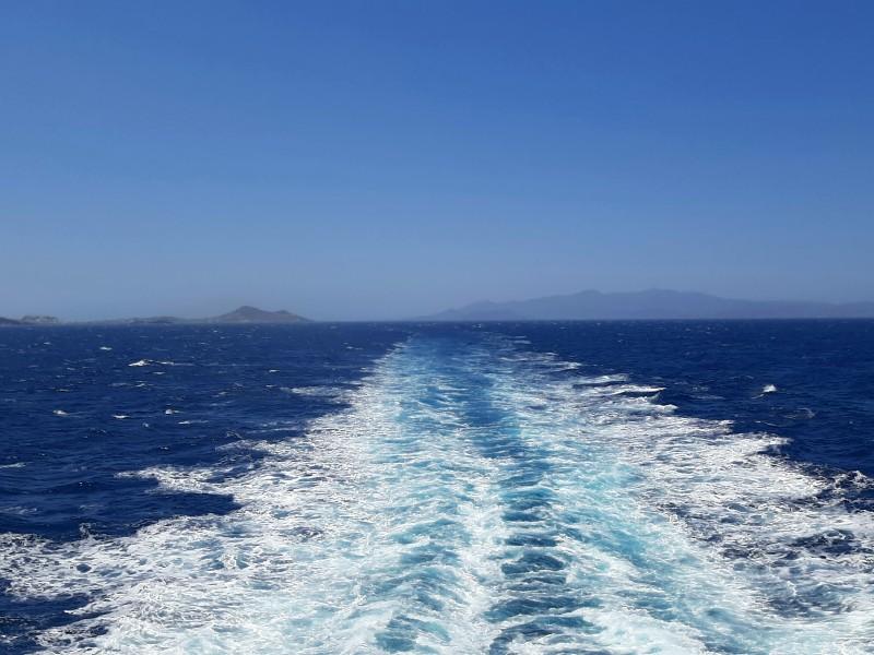 open sea ferry boat ship