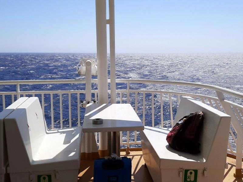 deck blue star ferries