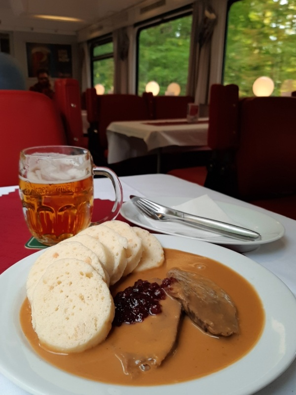 train dining car czech railways
