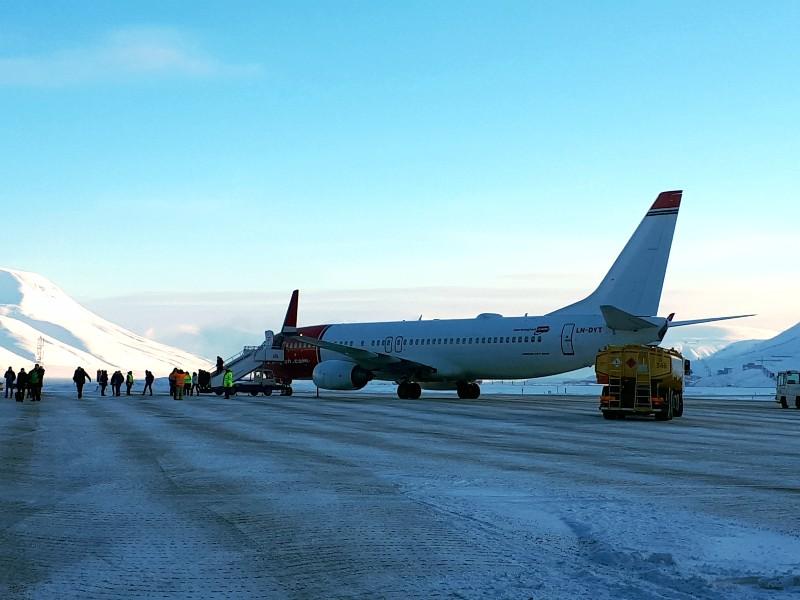 norwegian long haul longyearbyen svalbard