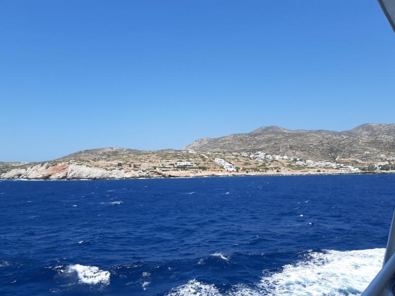 donousa cyclades view