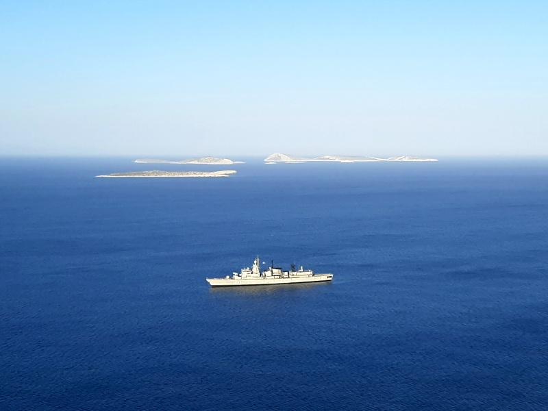 greek navy frigate