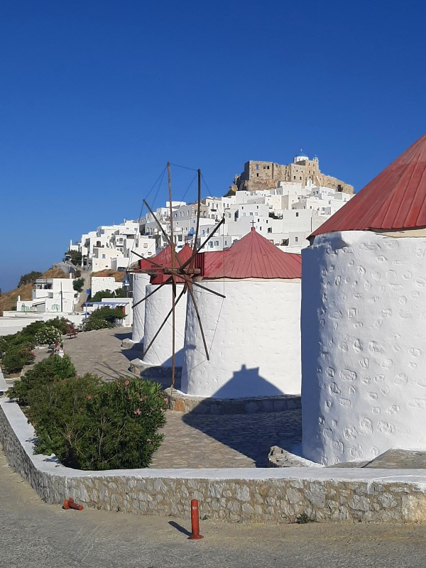 astypalaia windmills