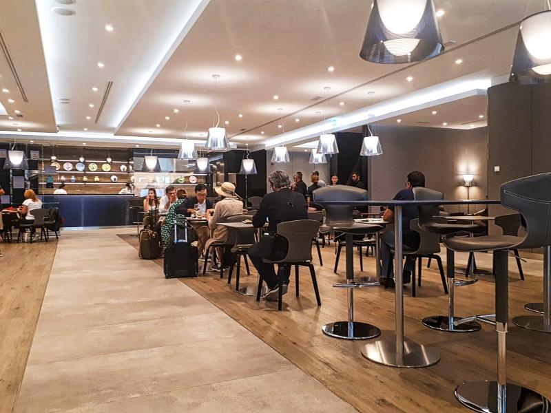 casa alitalia lounge rome
