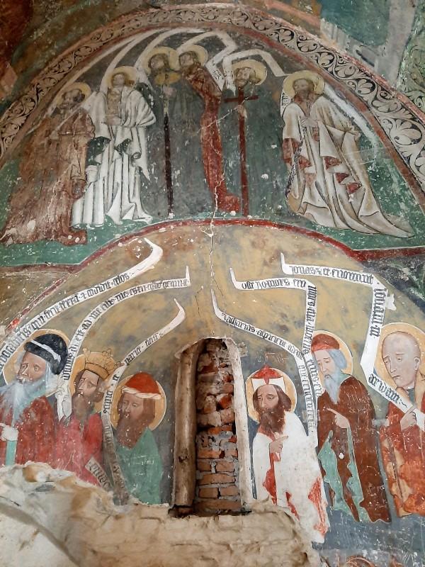 frescoes harman church