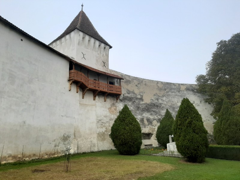 hărman fortified churches