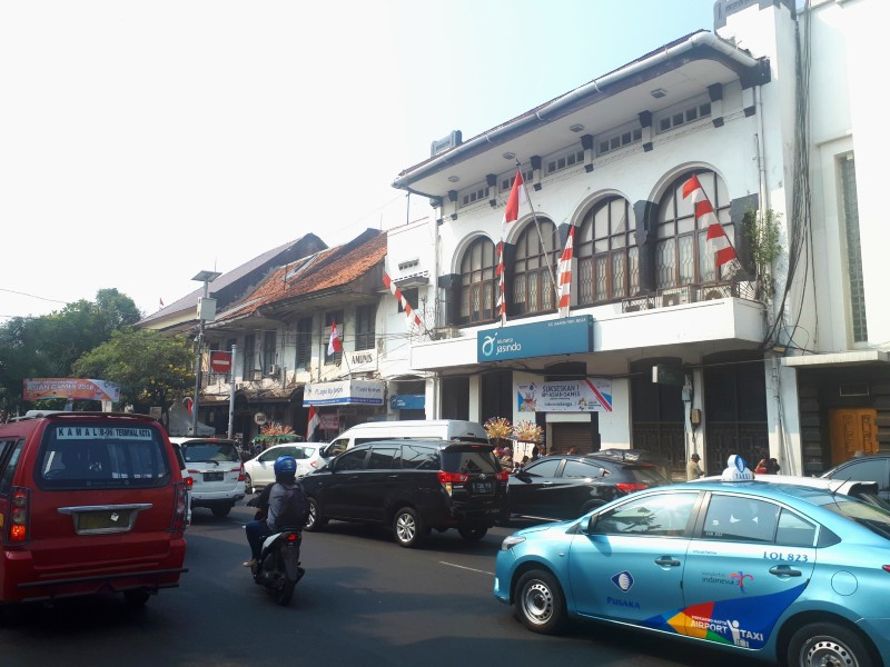 jakarta street scene