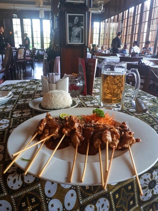 satay beer jakarta batavia trip report
