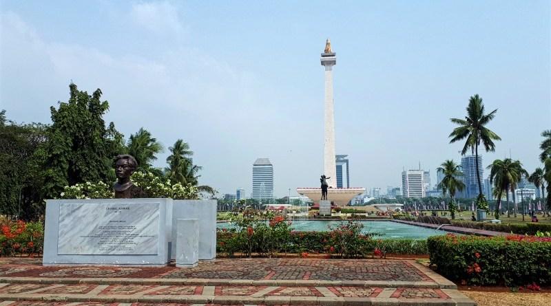 national monument merdaka jakarta indonesia