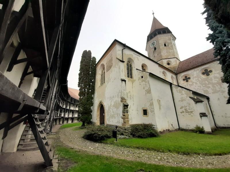 prejmer tartlau church romania brasov