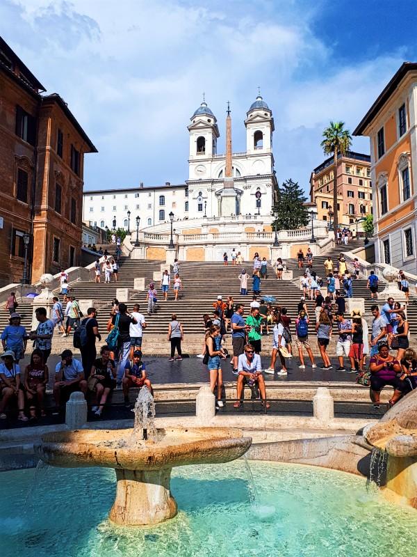 spanish steps rome half day