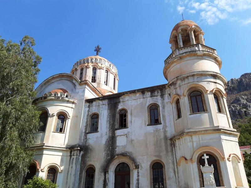church of saint george santrape megisti