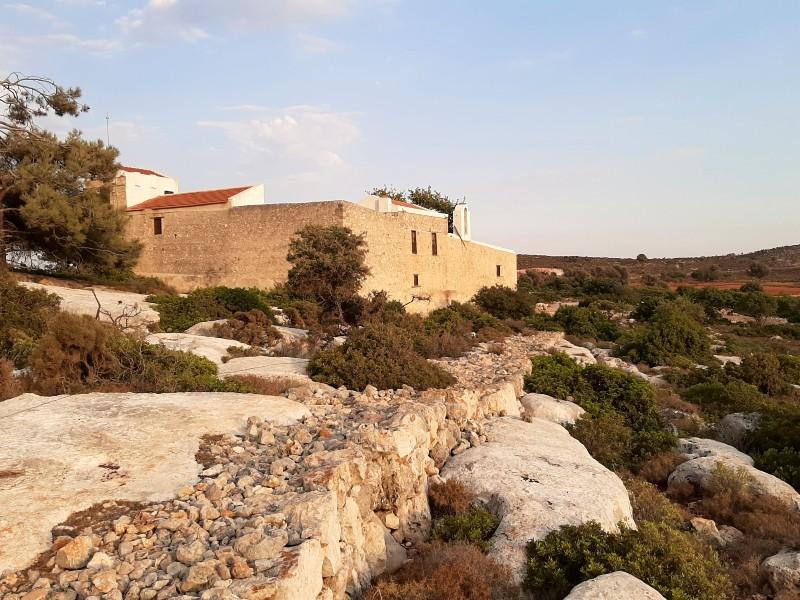 st george of the mountain monastery kastellorizo megisti